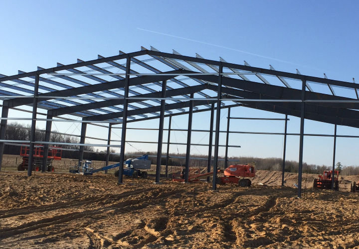 steel frame building